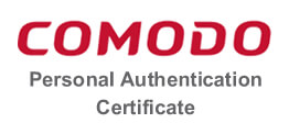 Comodo Personal Authentication Certificates 个人认证证书