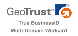 GeoTrust True BusinessID Multi-Domain Wildcard 多域名通配符 SSL 证书