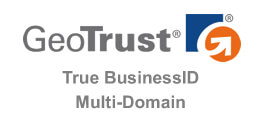 GeoTrust True BusinessID Multi-Domain 多域名 SSL 证书
