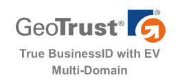 GeoTrust True BusinessID EV Multi-Domain 多域名 EV SSL 证书